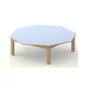 Table octogonale diam 120 cm