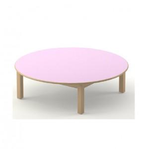 Table ronde Diam 120 cm ou 80 cm  (possibilité demi-ronde également)