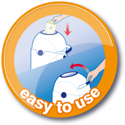 USP button Easy-to-use