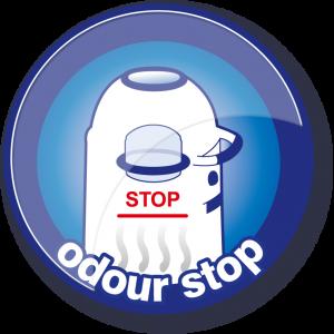 USP button Odour-stop