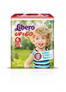 3807-Libero Up&Go Size6 20pcs