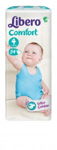 5461-Libero Comfort Size 4 54 pcs