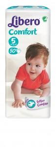 5464-Libero Comfort Size 5 50 pcs