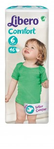 5472-Libero Comfort Size 6 46 pcs