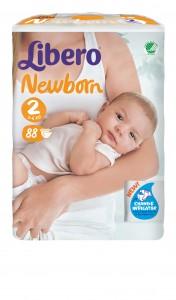 5566-Libero Newborn Size 2 88pcs